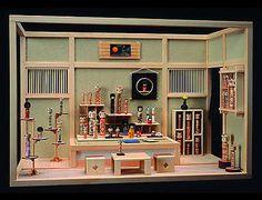 Japanese miniature diorama art - Kokeshi shop