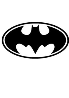 BATMAN VINYL STICKER - Car/Laptop/Wall/Furniture etc.
