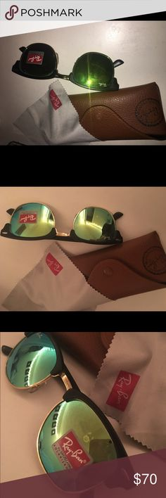 Rayban Clubmasters Never worn real Ray-Ban club masters Ray-Ban Accessories Sunglasses