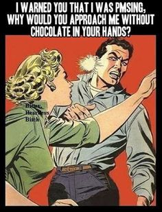 where's the chocolate?