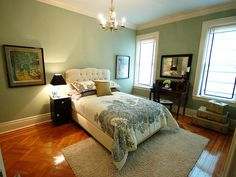 Bedrooms on a Budget: Our 24 Favorites From Rate My Space : Rooms : HGTV Love this wall color
