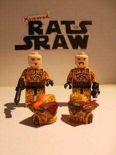 Lego Star Wars minifigures - Clone Custom ARF Troopers Waxer & Boil - 212th