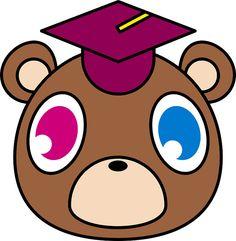 Kanye Graduation Bear by noahmead