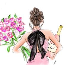#HappyValentinesDay💋@melsysillustrations  Be Inspirational ❥ Mz. Manerz: Being well dressed is a beautiful form of confidence, happiness & politeness