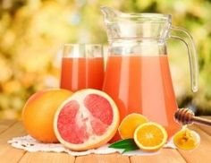 Apple Cider Vinegar & Grapefruit Fat Flush 1 cup of fresh grapefruit juice 1 Tbsp Apple cider vinegar 1 Tbsp raw honey You can keep up to 2 days Drink 2  times a day before a meal.
