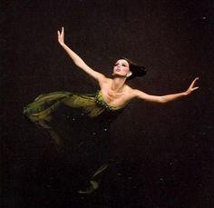 Model Dorothea McGowan photographed by Melvin Sokolsky.