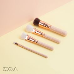 Our Rose Golden Vol. 2 brushes are hopelessly romantic, but never too posh to do the work. www.zoeva.de