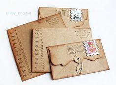 Awesome envelopes