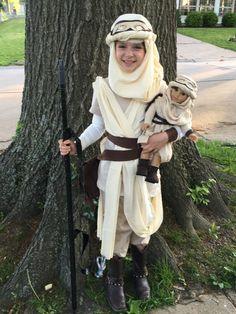 Star Wars Rey Costume Star Wars Rey Rey Toddler by FizzyZigZag