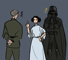 Embarassing behavior #leia #darthvader #anakinskywalker