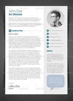 3-Piece Resume CV Cover Letter | GraphicRiver