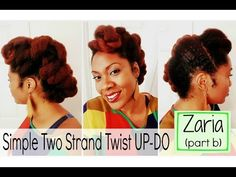 Prime Natural Hair Easy Professional Two Strand Twist That Will Last Short Hairstyles Gunalazisus