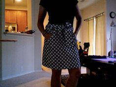 Simplicity 2258--super easy skirt with pockets!
