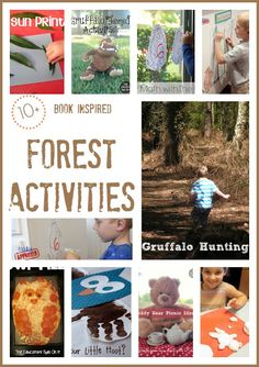 The Educators' Spin On It: 10+ Book Inspired Forest Activities PLUS 6 Giveaways!