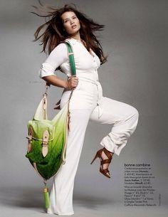 ab4d9c506ffe White jumpsuit  taralynn Abbigliamento Taglie Forti