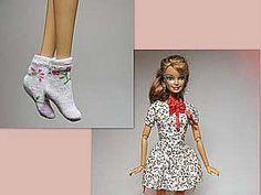 Как сшить носочки и гольфы для кукол
