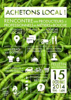 Rencontre entre producteurs en circuit court et professionnels des métiers de bouche Le PNR Millevaches en Limousin et la Communauté de Communes Creuse Grand Sud.