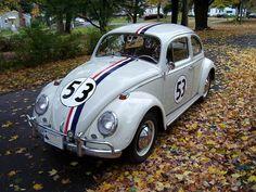 Herbie the Love Bug, 1964 VW Beetle by 63vwdriver, via Flickr