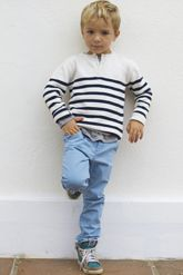 Stripes are a fave! Bibaloo - Arsene et les Pipelettes - French Designer Kids Clothes