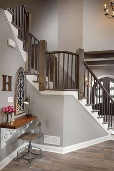 Lovely Grey Wall Paint Colors Wall Paint Color Is Sherwin Williams Acier SW9170. Trim Paint Color Is Sherwin Williams Extra