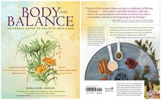 Giveaway: Body Into Balance – Herbal Academy Holistic Remedies, Herbal Remedies, Natural Remedies, Growing Herbs, Medicinal Herbs, Herbal Medicine, Book Review, Natural Health, Health And Wellness