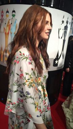 Feb.24, 2016: Lana Del Rey at the BRIT Awards in London #LDR