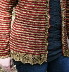 Red & Gold by Toby Roxane Barna on ravelry