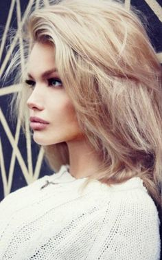 If I had short hair, I'd want it to look like this.