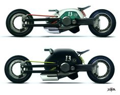 English designer Paul Van Denton's concepts.