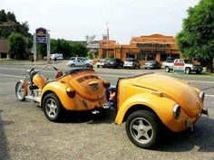 VW trike with VW tailed?