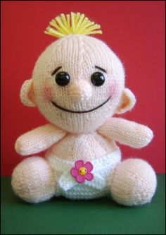 Balloon Baby    :  KNITTING PATTERN only PDF download. $4.00, via Etsy.