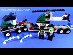 LEGO City police have been called out on emergency! Can the Police transporter and helicopter come to the rescue? Lego City Police, Transportation