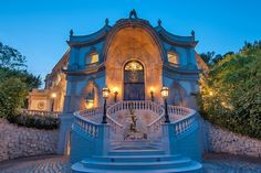 French Baroque Beverly Hills Chateau – Off The Market mansion exterior home luxury
