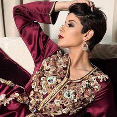 Caftan 2018 Styles de Luxe par Leila Hadioui - Caftan Marocain de Luxe 2018 : Boutique Vente Caftan Pas Cher