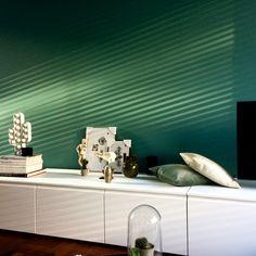 Ikea metod hack. Cabinet. Light. Green wall. Design by Tjeerd de Jong