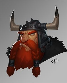 The Vikings, huimei YE on ArtStation at https://www.artstation.com/artwork/zQrE6