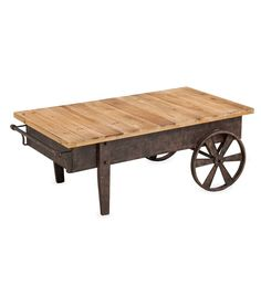 Add the Evergreen Enterprises Vintage Wood Plank and Metal Cart to your living room as a cocktail table or side accent. Its durable frame is constructed. Metal Cart, Industrial Furniture, Weston Home, Coffee Table Wood, Vintage Wood, Wood Planks, Cart Coffee Table, Vintage Industrial Furniture, Rectangle Coffee Table Wood