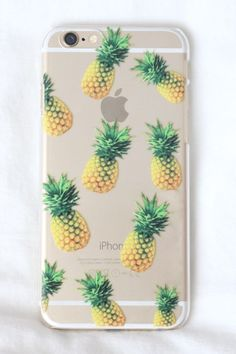 transparent pineapple phone case for iphone