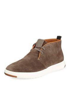 GrandPro Oiled Suede Chukka Sneaker, Brown