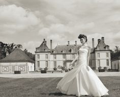 Wedding dress by Cymbeline 2014