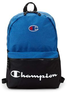 Champion Forever Champ The Manuscript Backpack Cute Backpacks For School, Trendy Backpacks, College Backpacks, Champion Shoes, My Champion, Men's Backpack, Leather Backpack, College Backpack Essentials, Mens Designer Backpacks