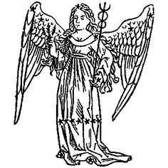 Virgo, illustration from a 1482 edition of a book by Hyginus.