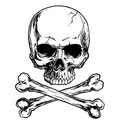 Find Skull Crossbones stock images in HD and millions of other royalty-free stock photos, illustrations and vectors in the Shutterstock collection. Thousands of new, high-quality pictures added every day. Bone Tattoos, Skull Tattoos, Sleeve Tattoos, Art Tattoos, Totenkopf Tattoos, Skull Tattoo Design, Pirate Skull, Skull And Crossbones, Skull Art
