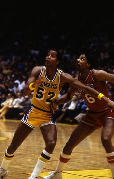 Jamaal Wilkes and Dr.J
