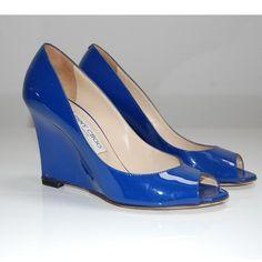 Tip: Jimmy Choo Heels (True Blue)