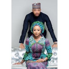 Rufai and Fatima Caught the Love Bug! See their Love Story & Pre-Wedding Photos African Wear Dresses, African Fashion Ankara, African Inspired Fashion, Latest African Fashion Dresses, African Print Fashion, Africa Fashion, African Attire, Ghana Dresses, Ethnic Fashion