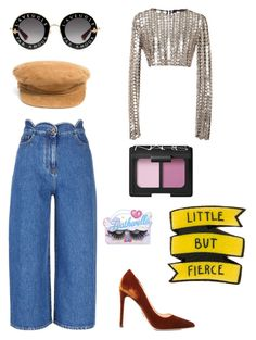 """""""Cat girl goes to party with book"""" by stitchesnotsnitches on Polyvore featuring Prada, Valentino, Wes Gordon, Gucci, Olive & Pique, NARS Cosmetics and Featherella"""