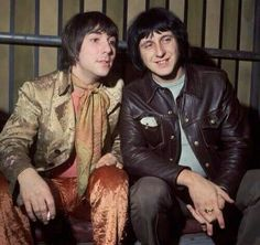 Keith Moon and John Entwistle (The Who)