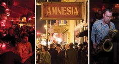 """Amnesia Bar-""""This place is known for having bluegrass on Monday night."""" recommended by fashion blogger Adelle"""