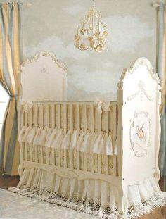 Shabby Chic Baby Nursery <3